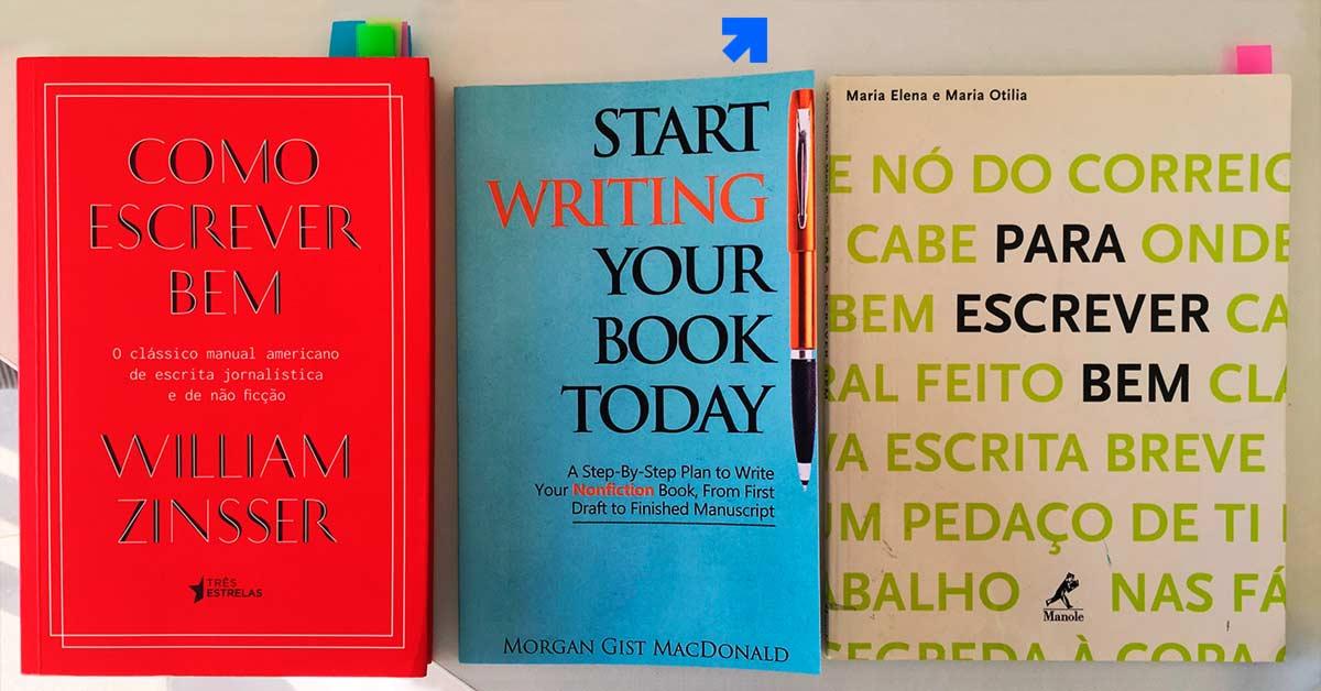 como começar a escrever um livro