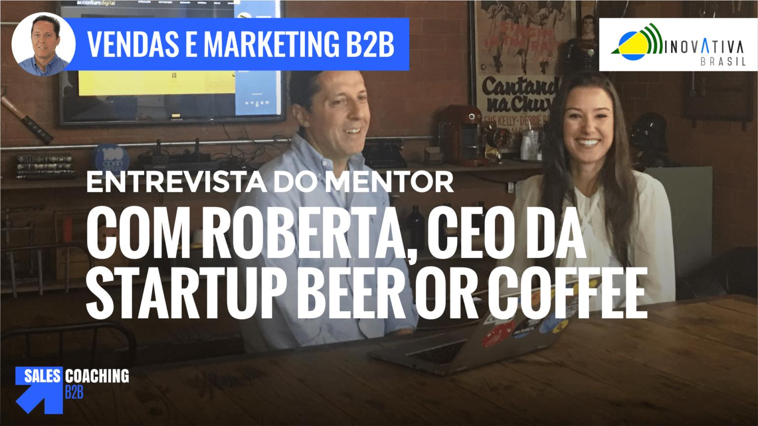 BeerOrCoffee - entrevista com Roberta Vasconcellos