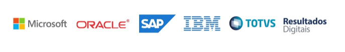 Microsoft, Oracle, Sap, Iba, Totvs e Resultados Digitais